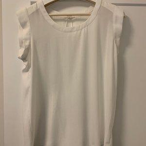 Pleione White blouse tank